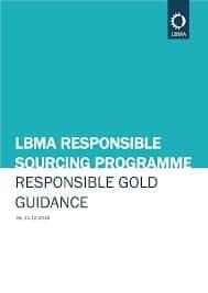 LBMA Responsible Sourcing